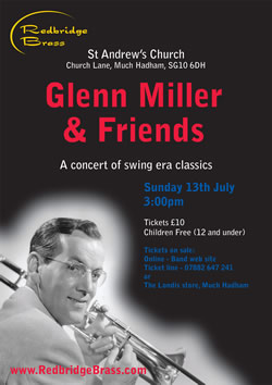 Glenn Miller and Friends poster - click to enlarge