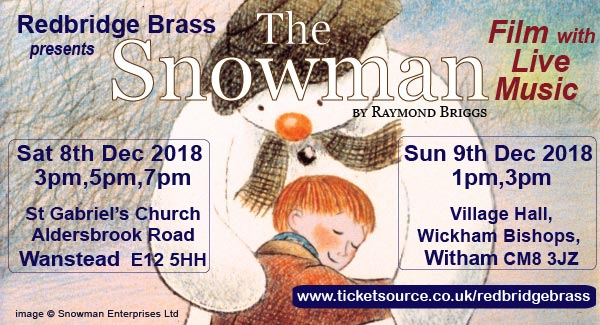 The snowman with live music