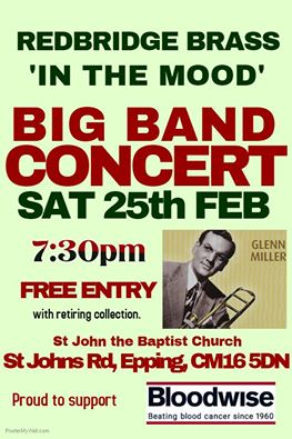 Big Band concert - In the mood